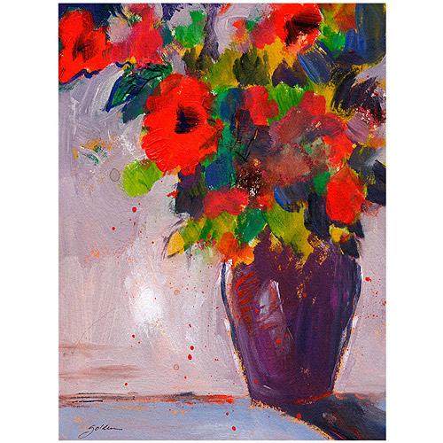 """Trademark Art """"Fiesta II"""" Canvas Art by Sheila Golden"""