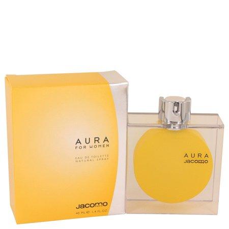 (pack 6) Aura Perfume By Jacomo Eau De Toilette Spray1.4 oz - image 1 of 2