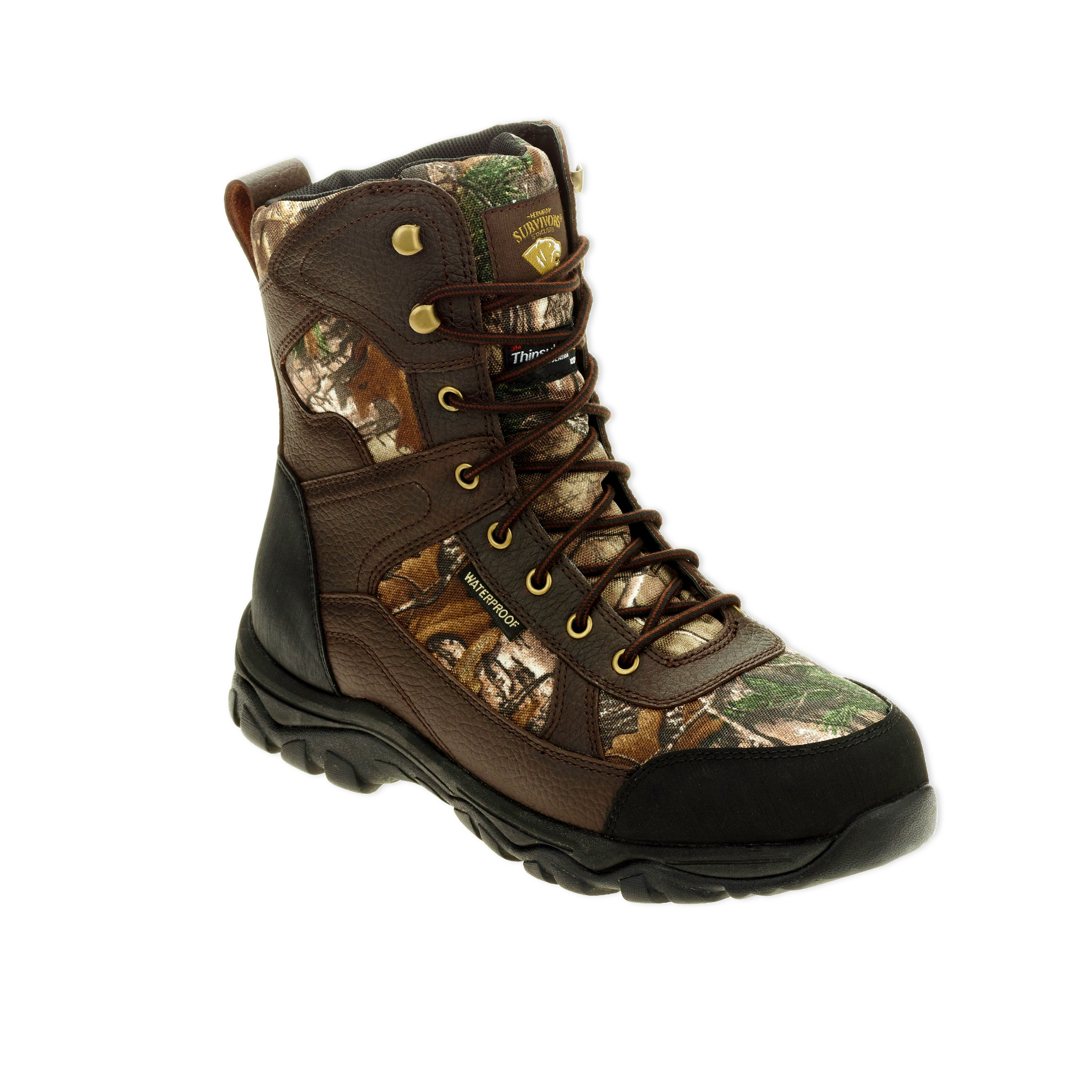 "Herman Survivors Men's 8"" Camo Hunting Boot"
