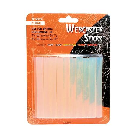Fun Express - Webcaster Web Stick Clear for Halloween - Basic Supplies - Adhesive - Glue - Halloween - 1 Piece