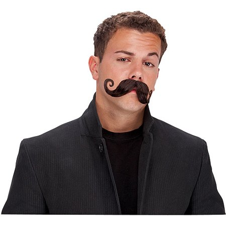 Handle Bar Adult Halloween Mustache Accessory - Bar Nyc Halloween