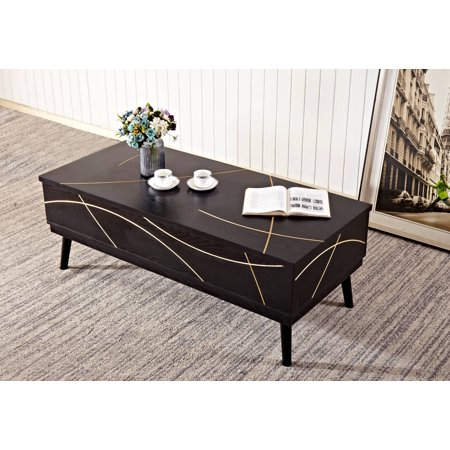 Home Source Natalie Mid Century Modern Cocktail Table ()