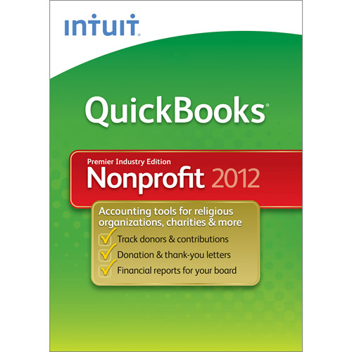 Quickbooks Premier Nonprofit 2012