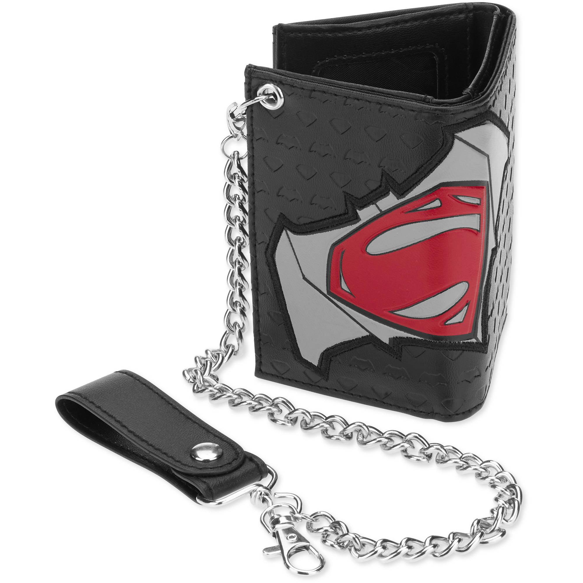 Dawn Of Justice Wallet Free Shipping! Embossed Movie Logo Batman V Superman