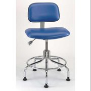 BEVCO 04210C2-BLUE Cleanroom Pneumatic Task Chair, 300 lb.