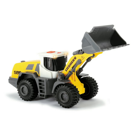 Dickie Toys - Liebherr R586 Vehicle with Lights and Sounds