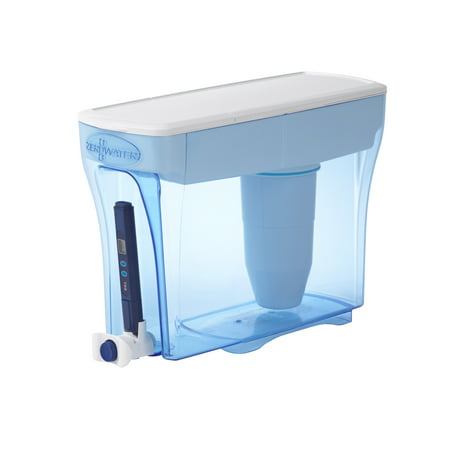 ZeroWater 30 Cup Ready-Pour Water Filtering Dispenser with Free Water Quality Meter