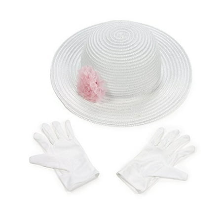 Scylling Very Berry Tin Tea Set with Fun Express Polyester Tea Party Hat and Gloves Set](Tea Party Hats And Gloves)