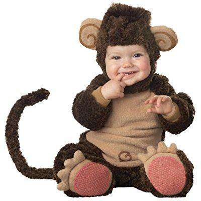 uhc baby's lil monkey lil character jumpsuit infant toddler halloween costume, - Monkey Halloween Costume Toddler