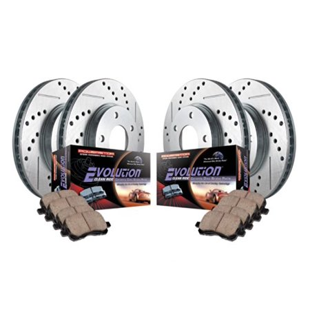 780 Front Brake (Power Stop K2557 Z23 Evolution Sport Upgrade Brake Kit -Front &)