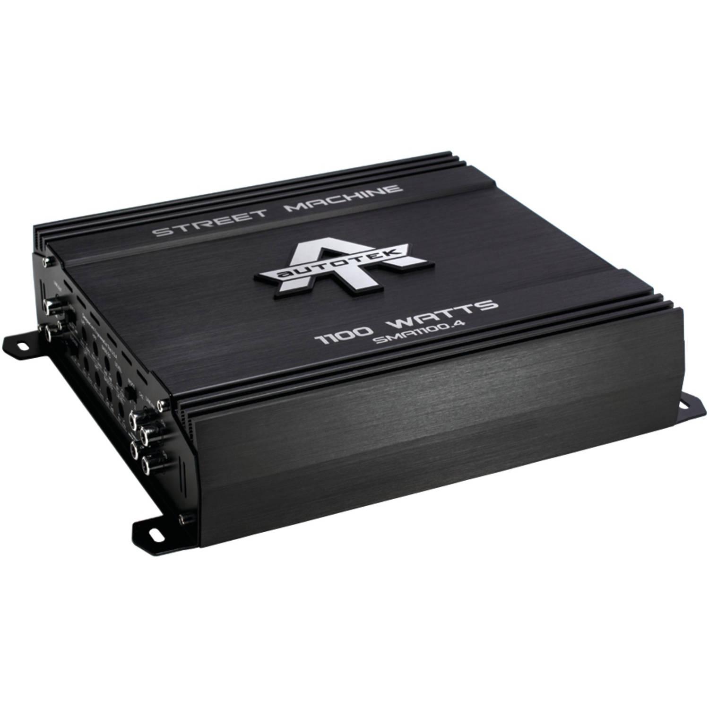 Autotek SMA1100.4 Street Machine 4-Channel Class AB Amp, 1,100 Watts