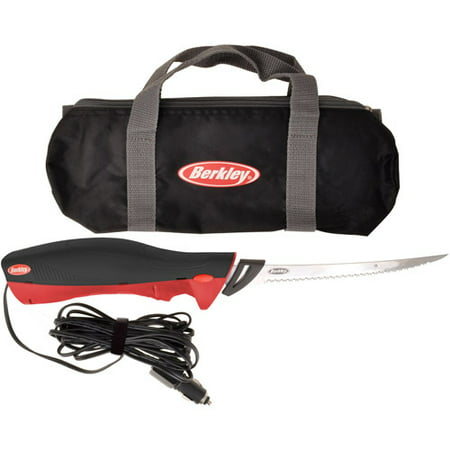 Berkley 12-Volt Electric Fillet Fishing Knife with Carrying