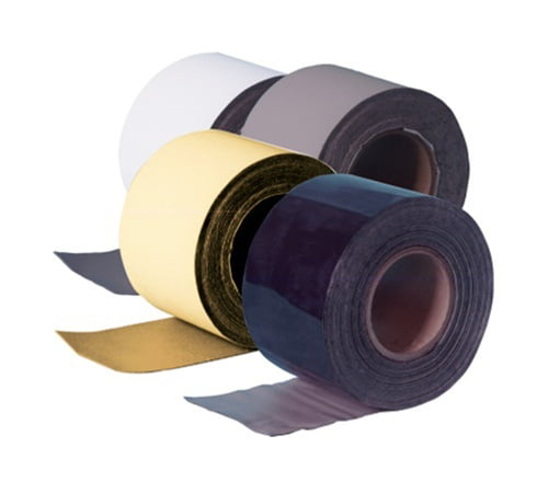 White RV Roof Sealant Tape Trailer Roof Sealant Tape Eternabond RV Rubber Roof Seal 1 Pack, 6 x50
