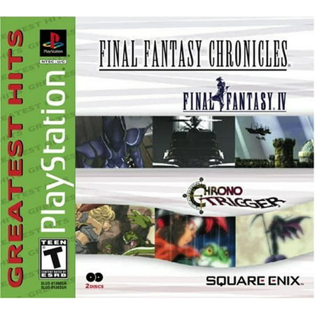 Final Fantasy Chronicles Greatest Hit PS