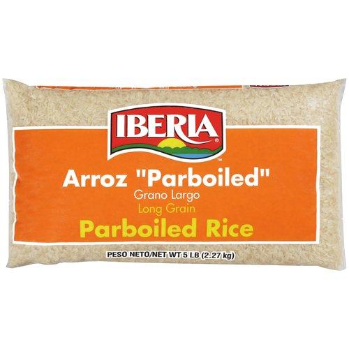 Iberia Parboiled Long Grain Rice, 5 lb