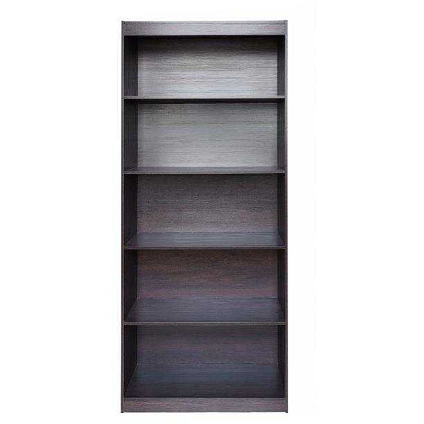 Wenge Techni Mobili Home 5 Shelf Bookcase - Walmart.com - Walmart.com