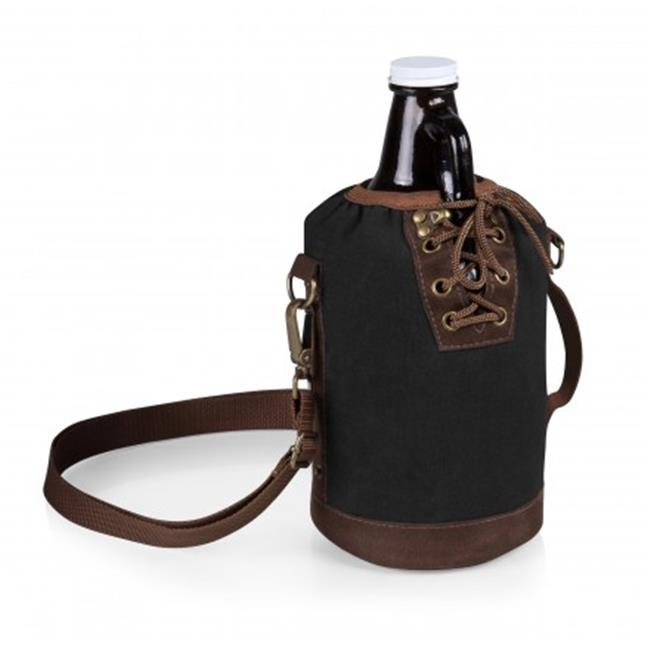 Growler Tote with 64 oz. Glass Growler - Black - image 1 de 1