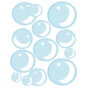 Bubble Wall Decals ~Cute Air Bubbles for Kids Room Wall Decor