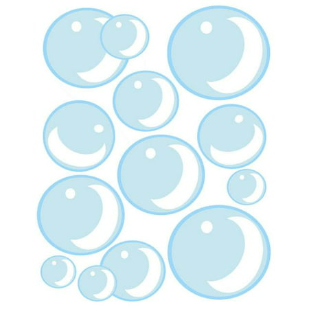 Bubble Wall Decals ~Cute Air Bubbles for Kids Room Wall Decor ()