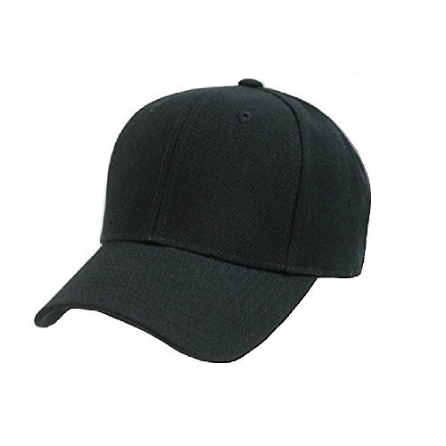 6fe3584ba7c Qraftsy - Plain Unisex Baseball Cap - Blank Hat with Solid Color    Adjustable for Men   Women - Max Comfort (1 Unit