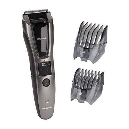 panasonic electric trimmer rechargeable beard mustache and hair shaver ergb60k. Black Bedroom Furniture Sets. Home Design Ideas