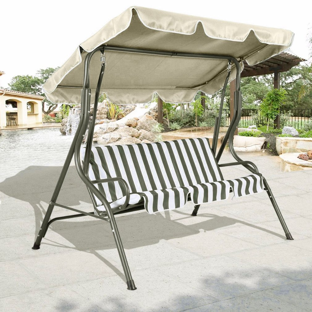 Simple Waterproof Shell For Patio Swing Chair Polyester C...