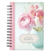 Journal Wirebound Large Amazing Grace