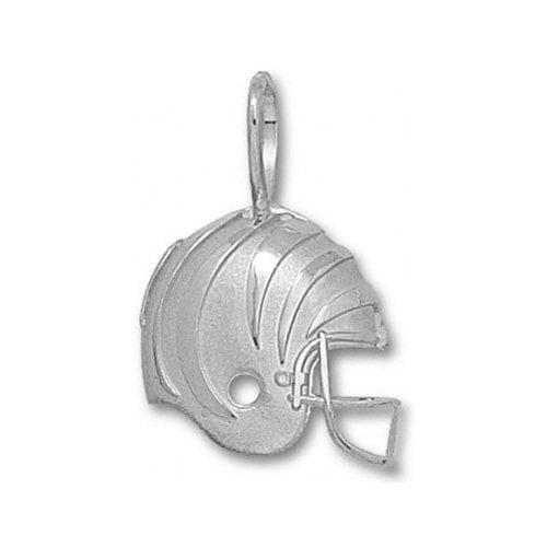 NFL - Cincinnati Bengals Sterling Silver Helmet Pendant