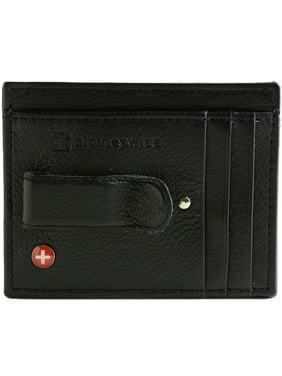 9d22998af789 Product Image Alpine Swiss Mens Money Clip Genuine Leather Minimalist Slim  Front Pocket Wallet