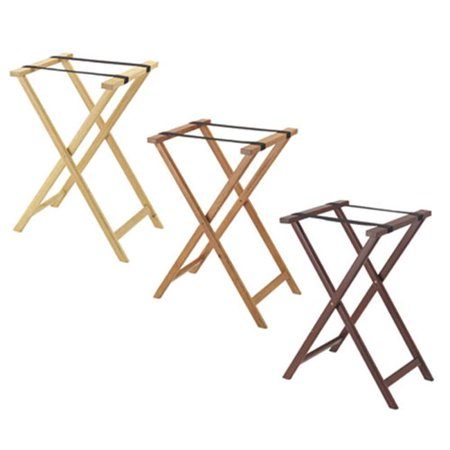 Ts2 Truing Stand - Aarco TS-2  Folding Wood Tray Stand - Medium