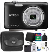Nikon COOLPIX A100 20.1MP f/3.7-6.4 Max Aperture Compact Point and Shoot Digital Camera 8GB Accessory Kit Black - Best Reviews Guide