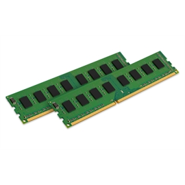 Kingston Memory KVR21N15D8K2/32 32GB DDR4 2133 2x16GB unbuffered UDIMM Retail