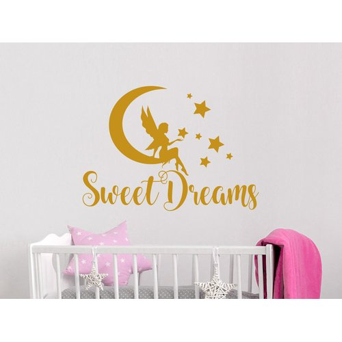 Harriet Bee Sweet Dreams Moon Wall Decal