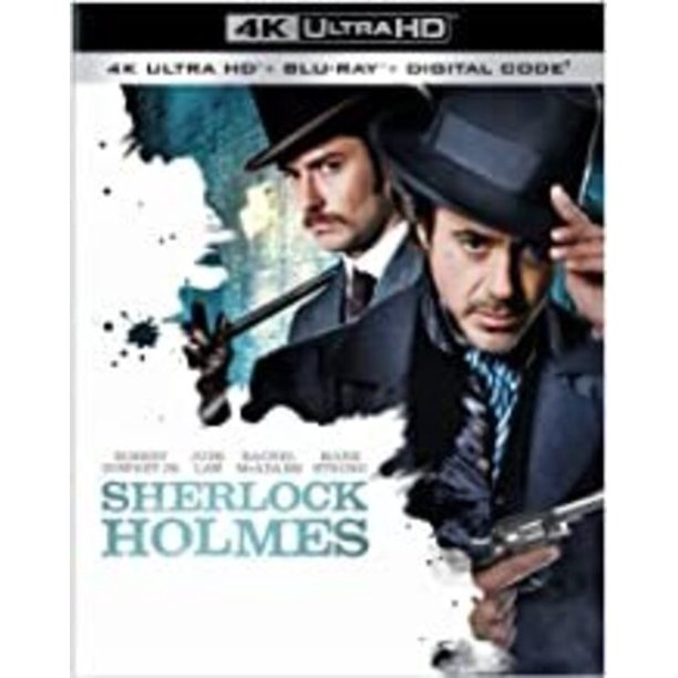 Sherlock Holmes (4K Ultra HD + Blu-ray + Digital Copy)