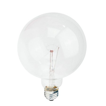Philips 60w 120v G40 DuraMax Clear E26 Decorative Incandescent Light (100w G40 Incandescent Bulb)
