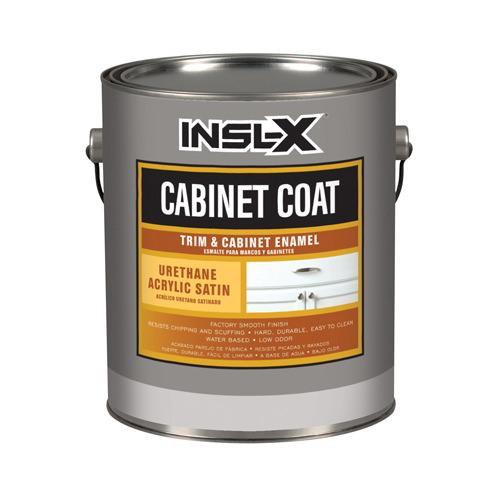 BENJAMIN MOORE & CO-INSL-X CC4510099-04 Quart Satin White Cabinet Enamel