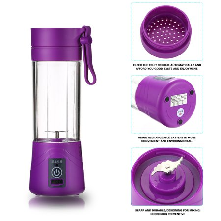 KKSTAR New Fashion Electric Juice Blender Multi-functional Household and Portable Juicer Cup - image 1 de 7