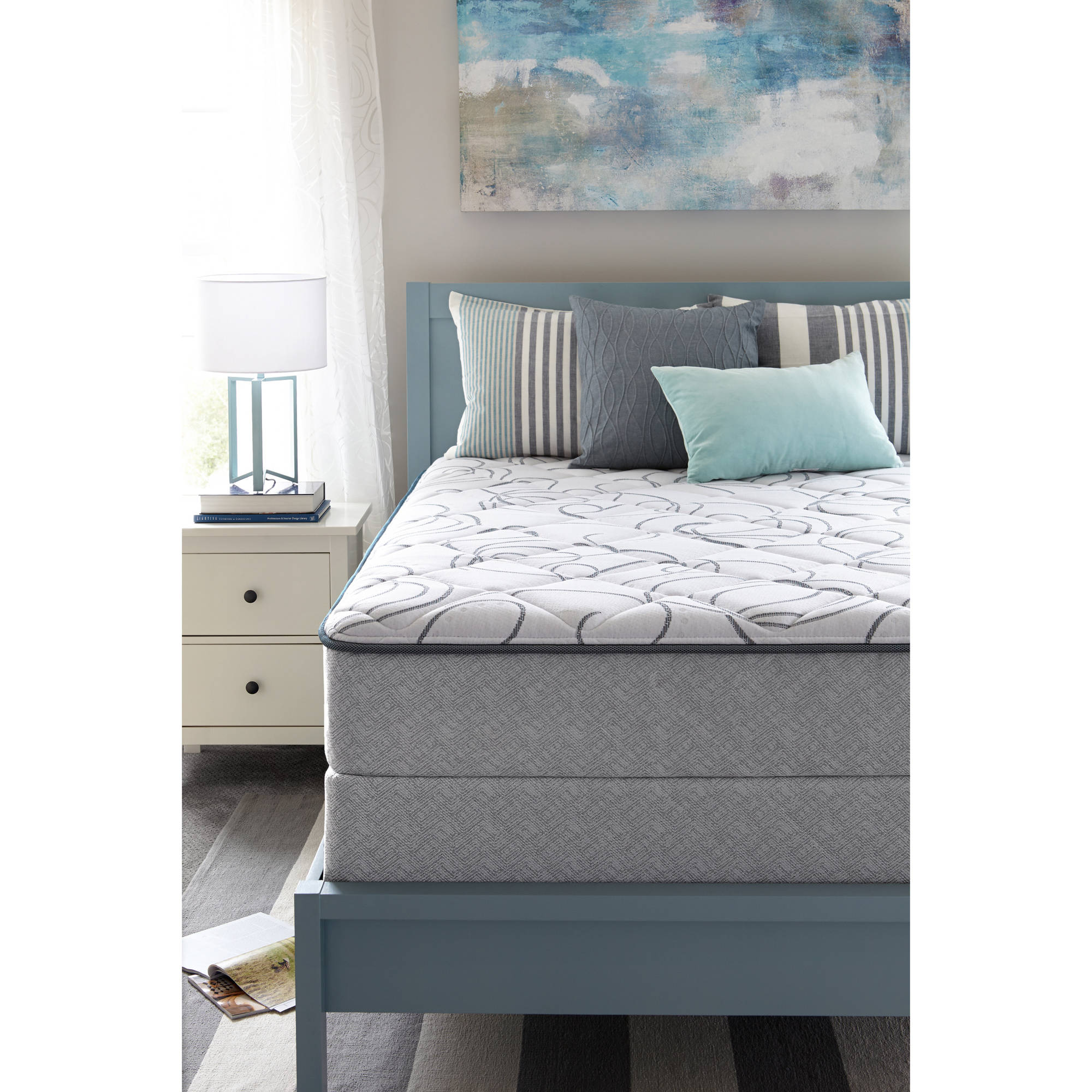 Sealy Bourdon Mattress Plush Multiple Sizes Walmart