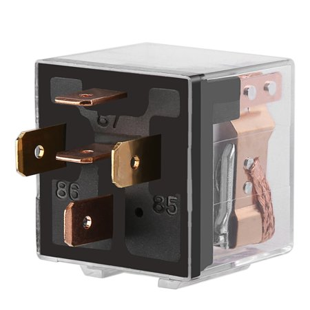 JD2912 DC 12V 40A 5 Pin Post Car Relay Double Contact Car Switch Power Relay - image 4 of 5