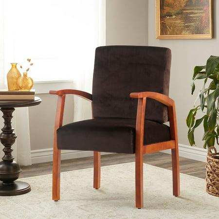 Harper Bright Designs Guest Chairs Reception With Armrest Arm Chair Office Furniture Dark Brown