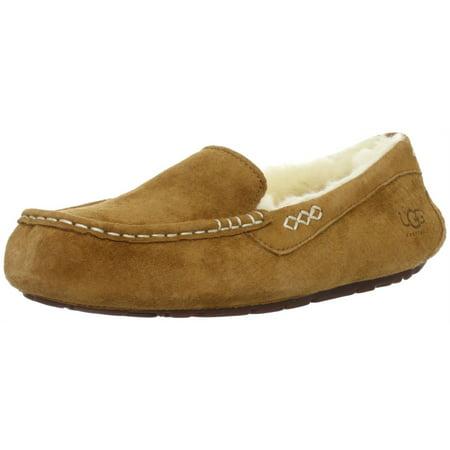 904b3f8f677 UGG - Women s Ansley Chestnut Ankle-High Wool Slipper - 9M - Walmart.com