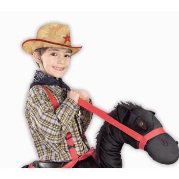 HAT-COWBOY STRAW CHILD - Kids Straw Hat