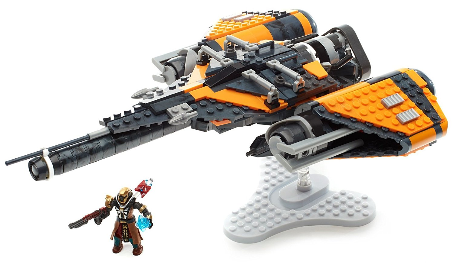 Destiny Arcadia Jumpship Construction Set, Prepare your Guardian to leap across New... by