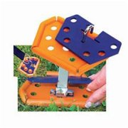 FASTNERS PP111 Peggy Peg Anchor Uni-Plate, Pack 2