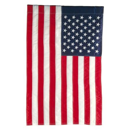 Evergreen Flag American House Flag