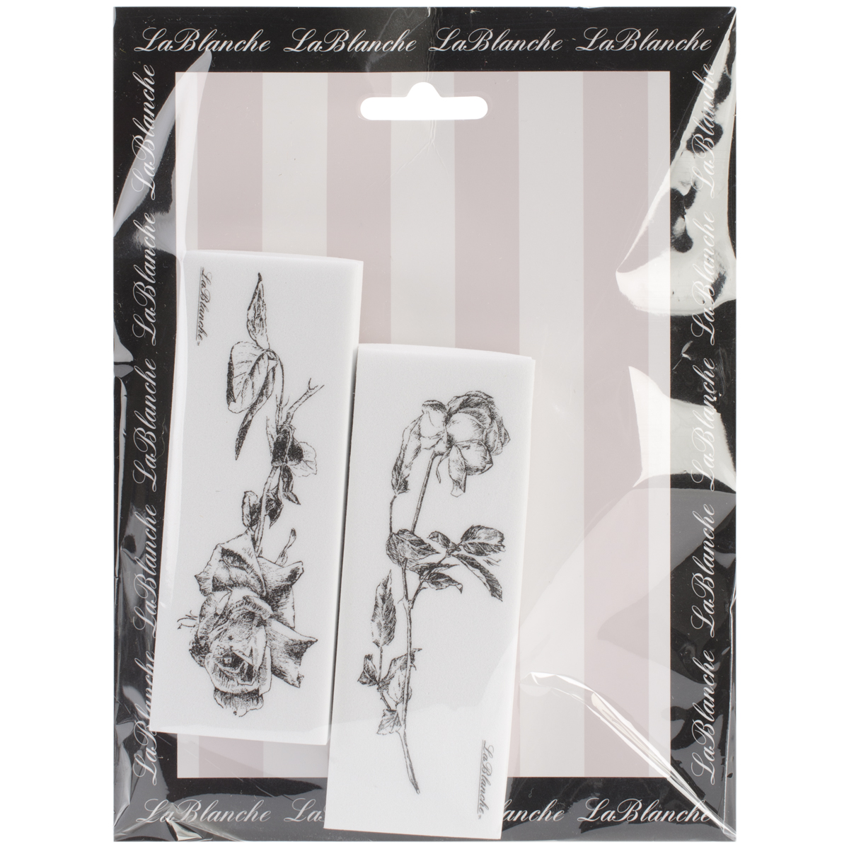 "LaBlanche Silicone Stamps 6""X7.5"" Sheet-Roses"