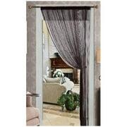 Kashi Home Lisa Solid Color Sheer Rod Pocket Single Curtain Panel