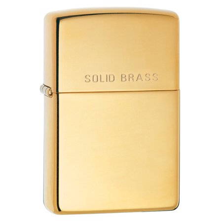 Zippo Pipe Lighter: Solid Brass - High Polish Brass 254PL