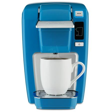 Keurig K Mini K15 Single Serve K Cup Pod Coffee Maker True Blue