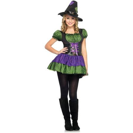 Leg Avenue Junior Hocus Pocus Girl's Halloween - Hocus Pocus Sisters Halloween Costumes